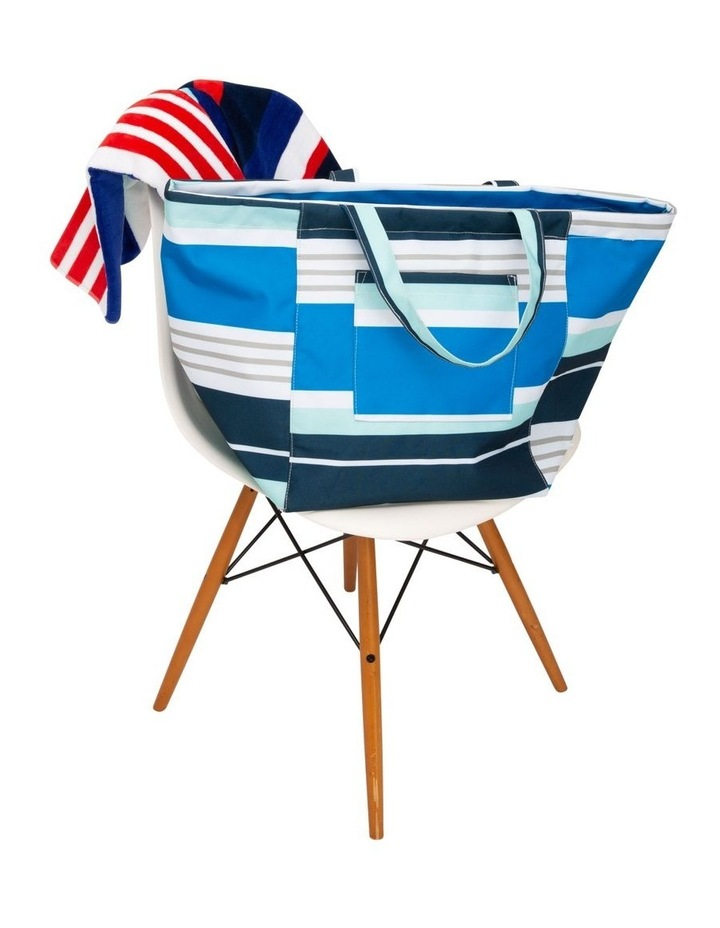 Stripe Tote Bag in Multi image 5