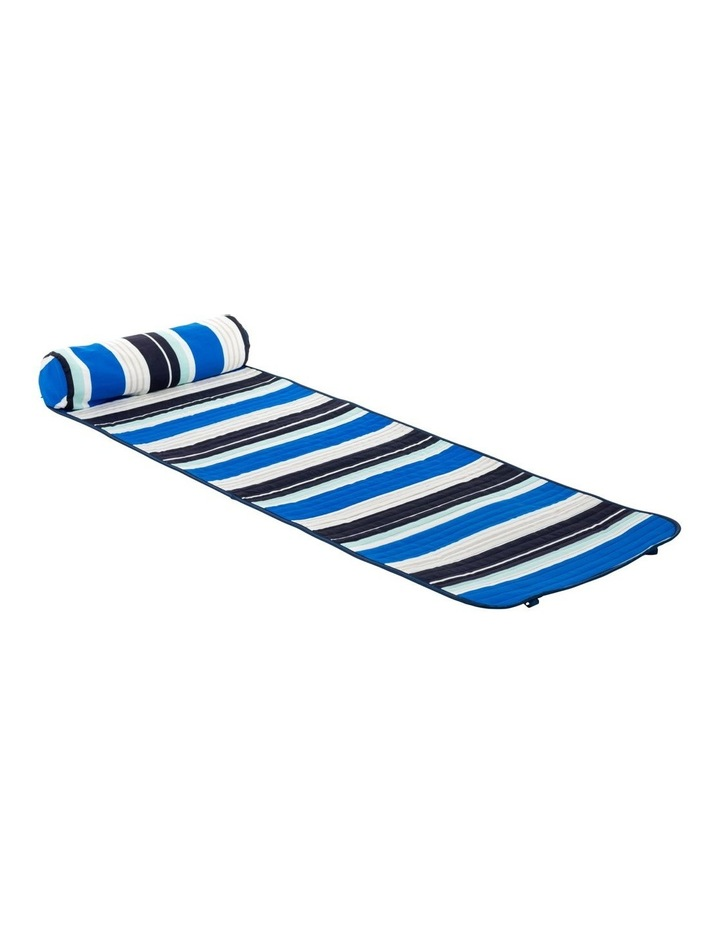 Stripe Roll-Up Mat in Multicolour image 1