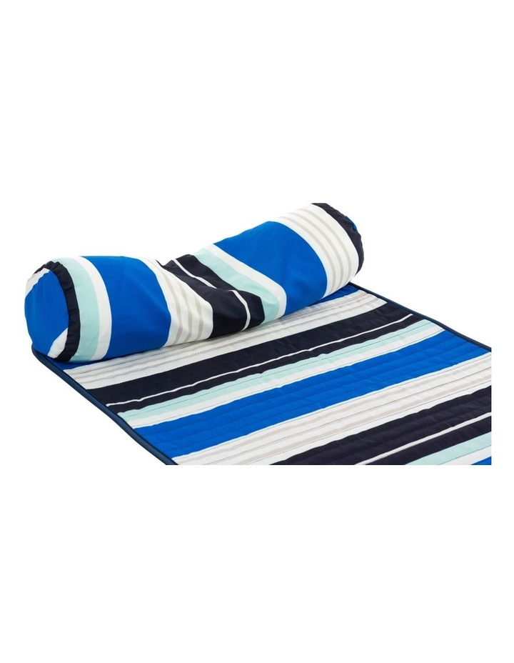 Stripe Roll-Up Mat in Multicolour image 2