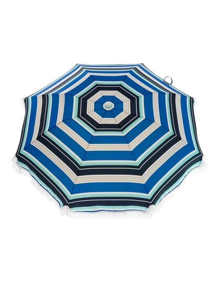 Stripe Beach Umbrella in Multicolour image 1