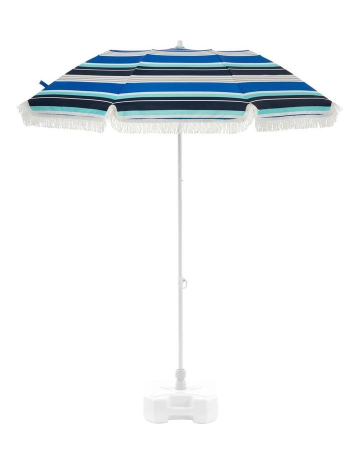 Stripe Beach Umbrella in Multicolour image 2