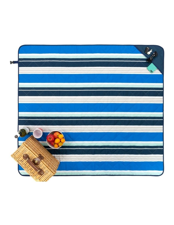 Stripe Beach Mat in Multicolour image 1