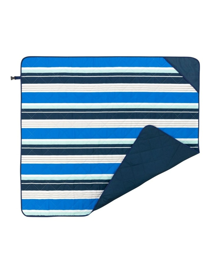 Stripe Beach Mat in Multicolour image 3
