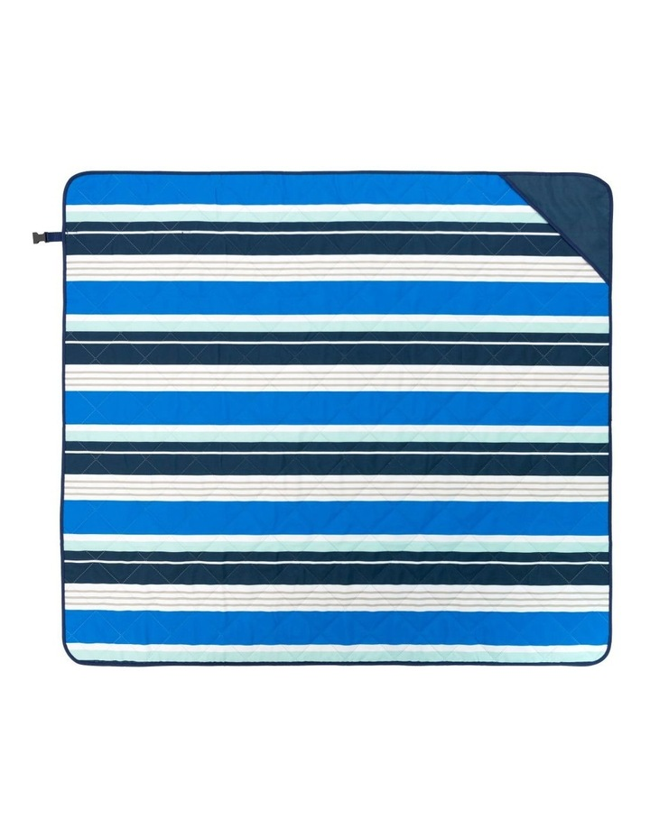 Stripe Beach Mat in Multicolour image 4