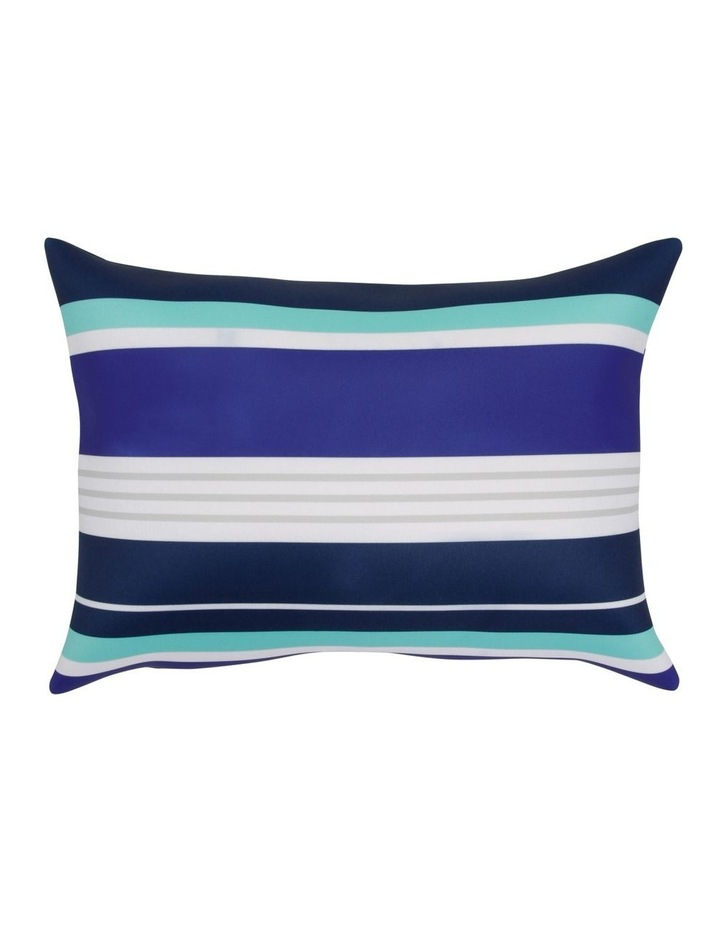 Stripe Beach Pillow in Navy image 1