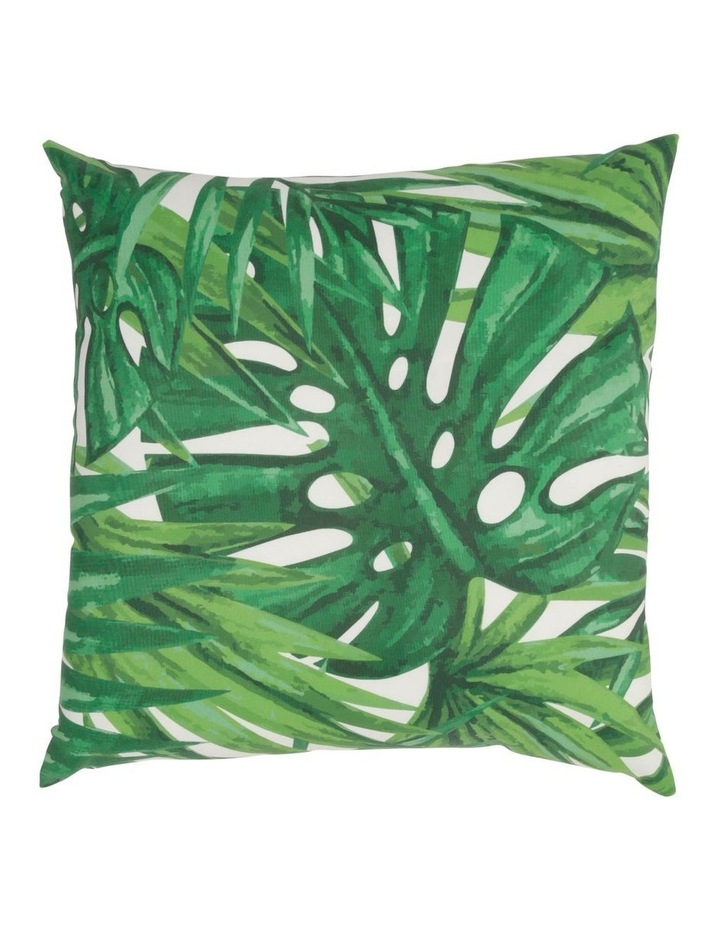 Senegal Leaf Outdoor Cushion in Green image 1