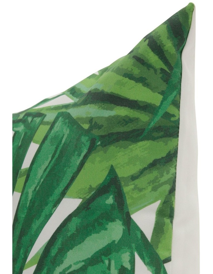 Senegal Leaf Outdoor Cushion in Green image 2