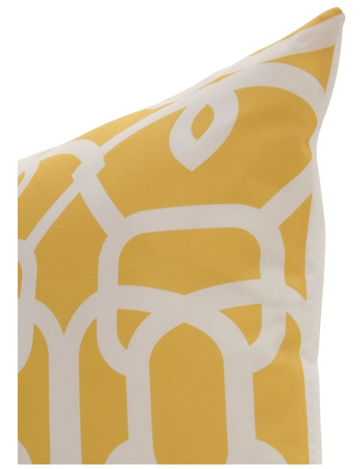 Baia Geo Outdoor Cushion in Yellow image 2