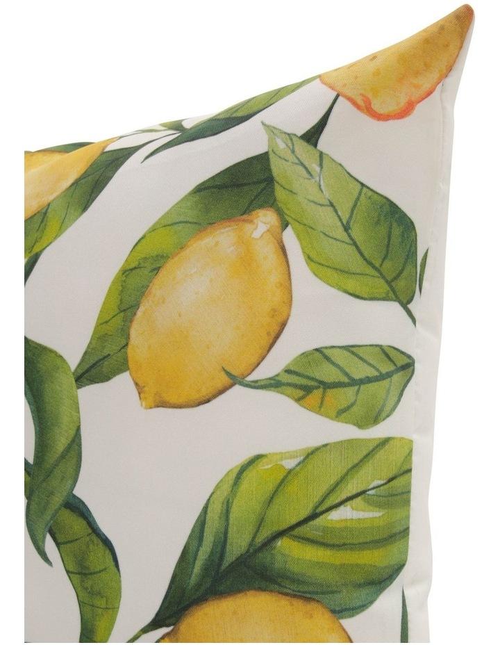 Salerno Lemon Outdoor Cushion in Yellow image 2