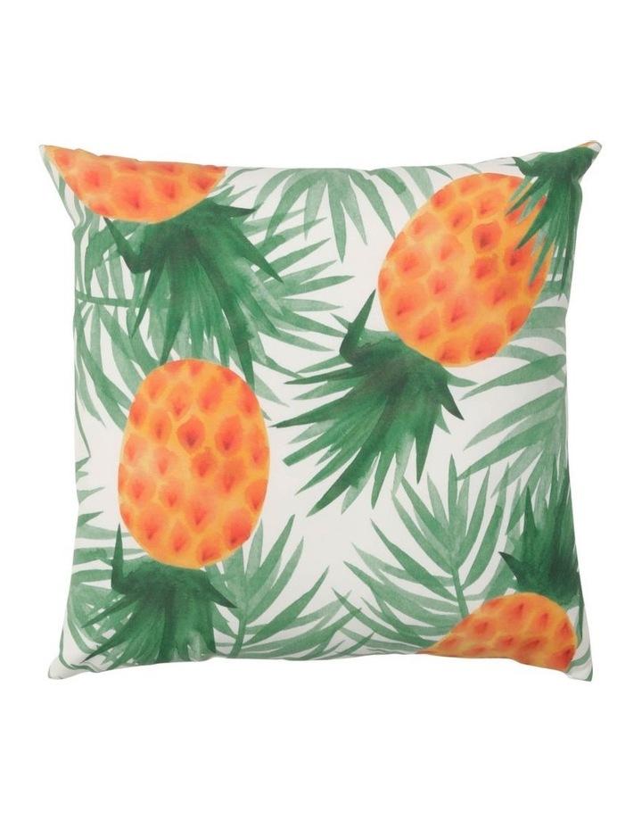 Pedasi Pineapple Outdoor Cushion in Yellow image 1
