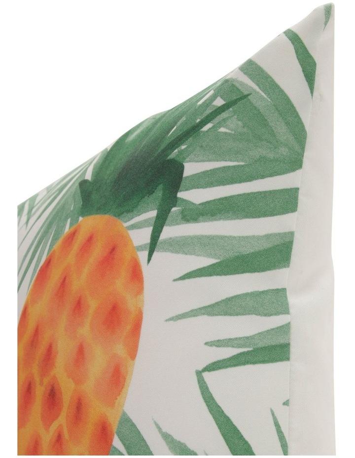 Pedasi Pineapple Outdoor Cushion in Yellow image 2