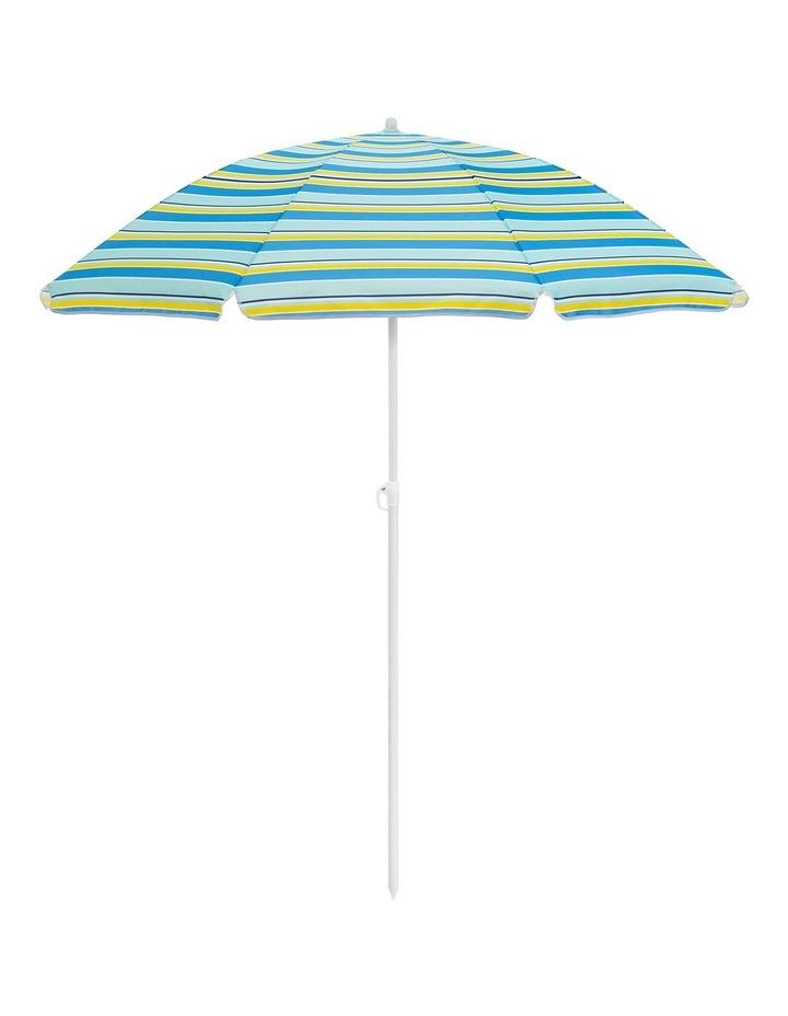 Boca Stripe Beach Umbrella image 1