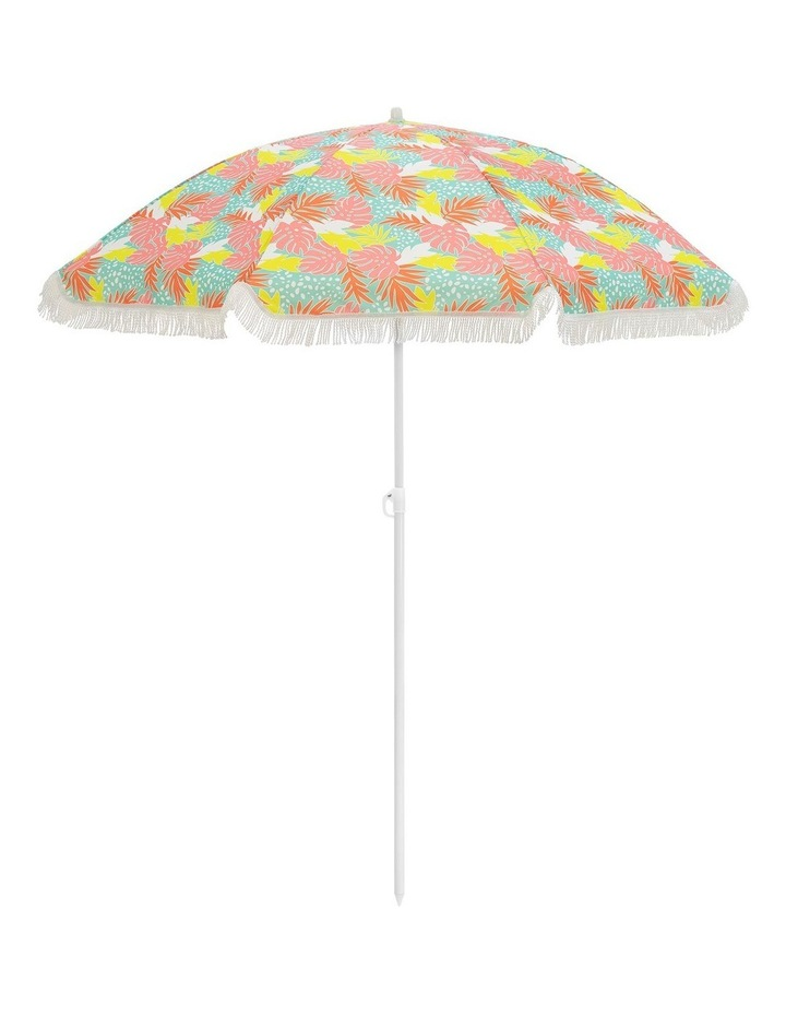 Bali Print Tassle Beach Umbrella image 1