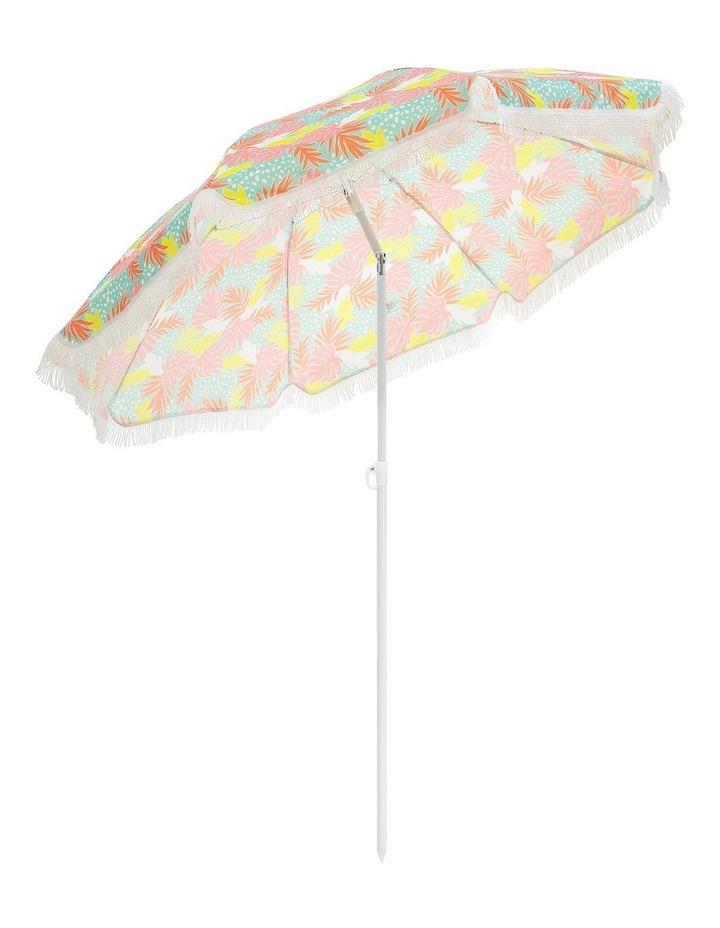 Bali Print Tassle Beach Umbrella image 2