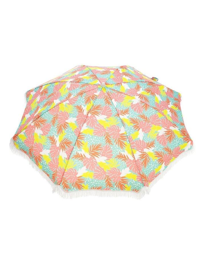 Bali Print Tassle Beach Umbrella image 5