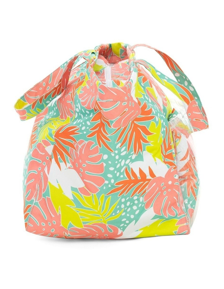 Bali Print Beach Tote With Pillow image 5