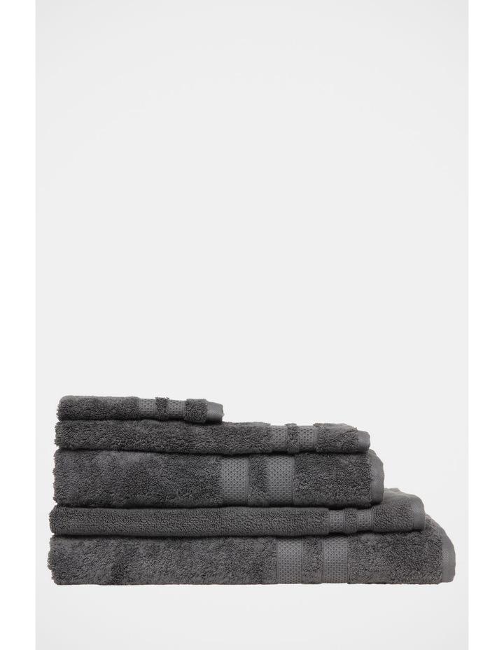 Premium Egyptian Cotton Towel Range in Coal image 1