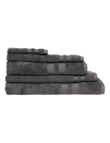 9bd85a430a HeritagePremium Egyptian Cotton Towel Range in Coal. Heritage Premium  Egyptian Cotton Towel Range in Coal