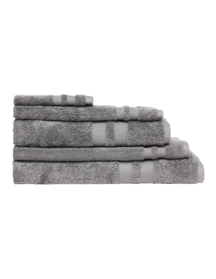 Premium Egyptian Cotton Towel Range in Steel Grey image 1