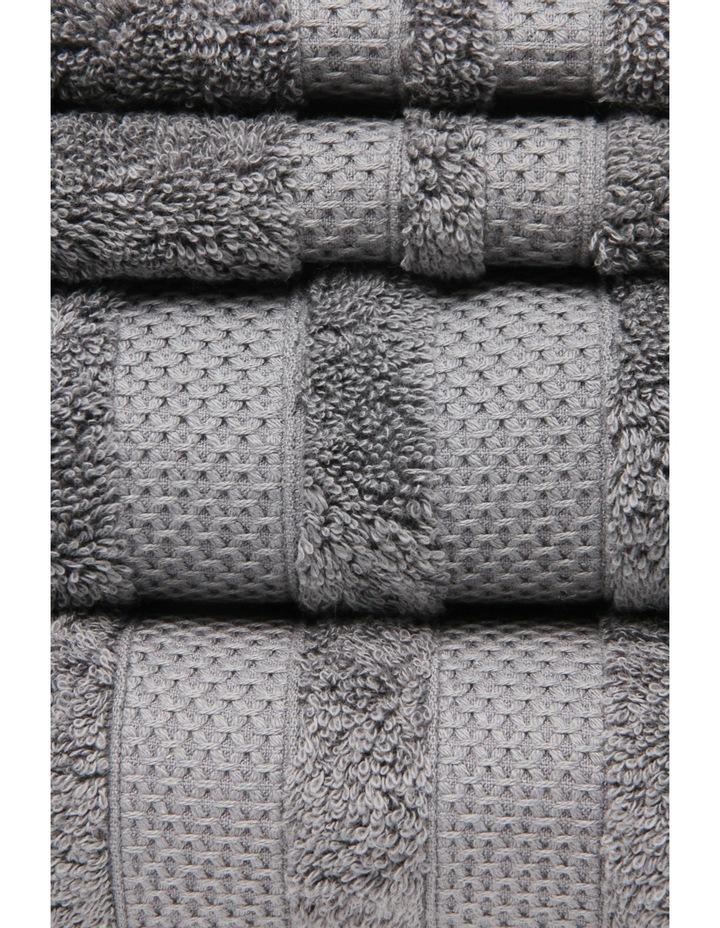 Premium Egyptian Cotton Towel Range in Steel Grey image 2