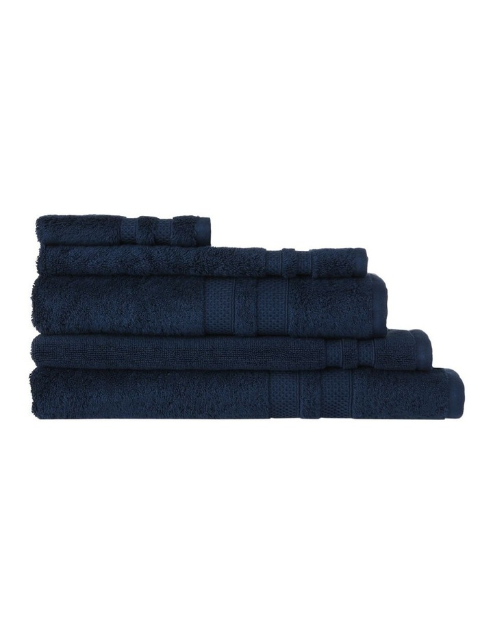 Premium Egyptian Cotton Towel Range in Navy image 1