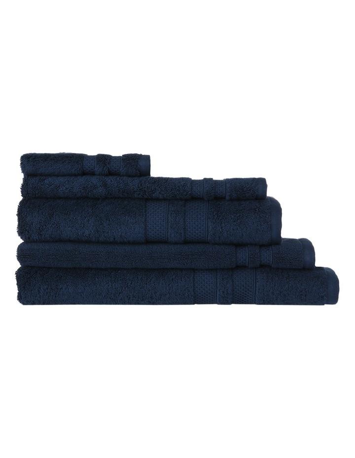 Premium Egyptian Cotton Towel Range in Navy image 1