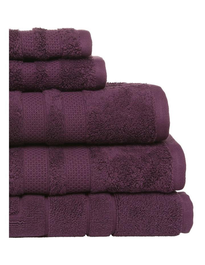Premium Egyptian Cotton Towel Range in Mulberry image 2