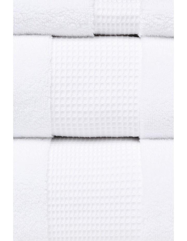Serenade Towel Range in White image 2