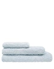 Juliette Damask Cotton Jacquard Bath Towel