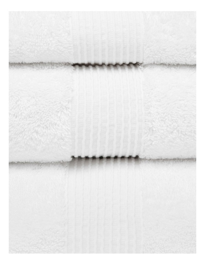 Natural Australian Cotton Towel Range in White image 2
