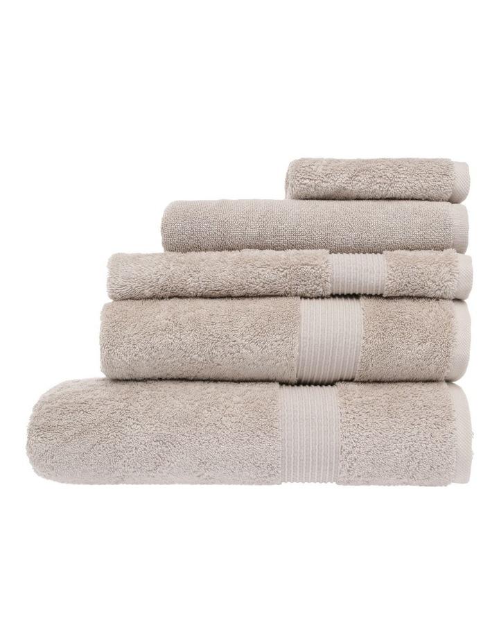 Natural Australian Cotton Towel Range in Natural image 1