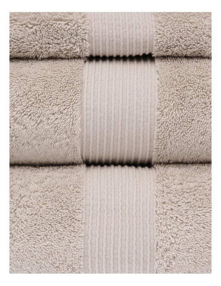 Natural Australian Cotton Towel Range in Natural image 2
