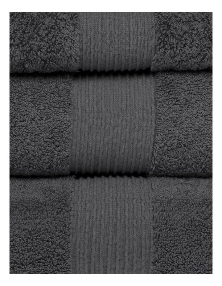 Natural Australian Cotton Towel Range in Charcoal image 2