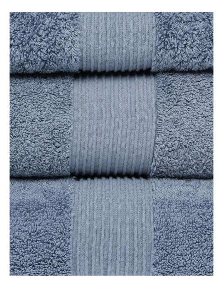 Natural Australian Cotton Towel Range in Celestial Blue image 2