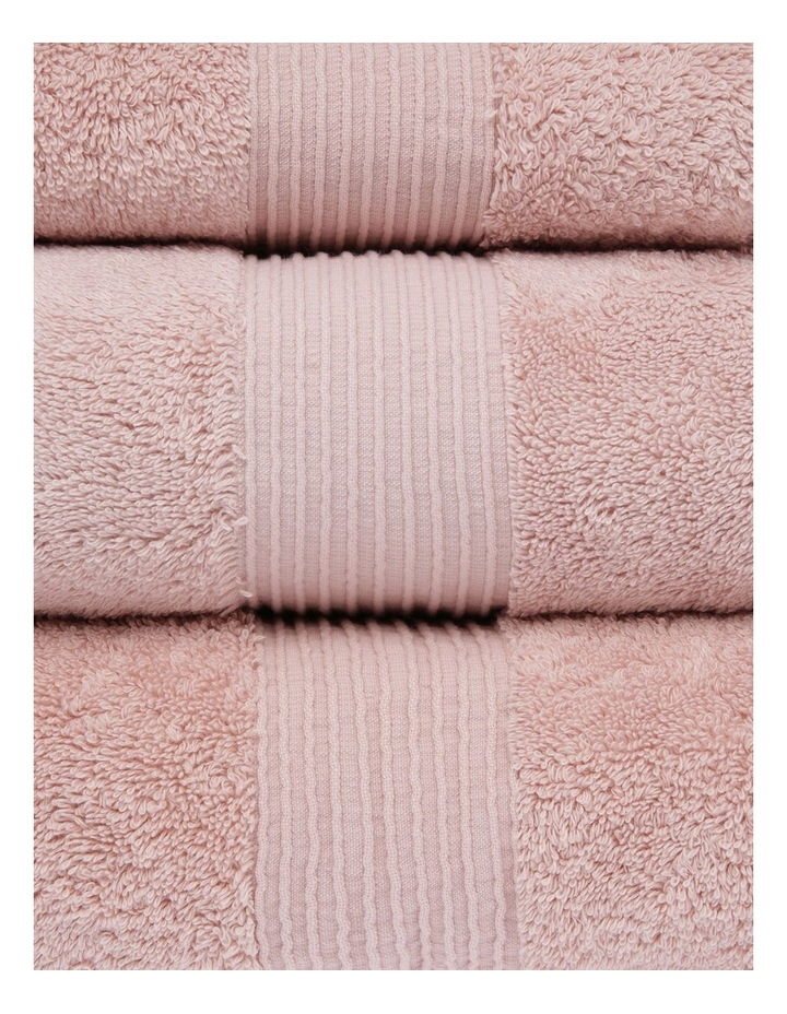 Natural Australian Cotton Towel Range in Dusty Pink image 2