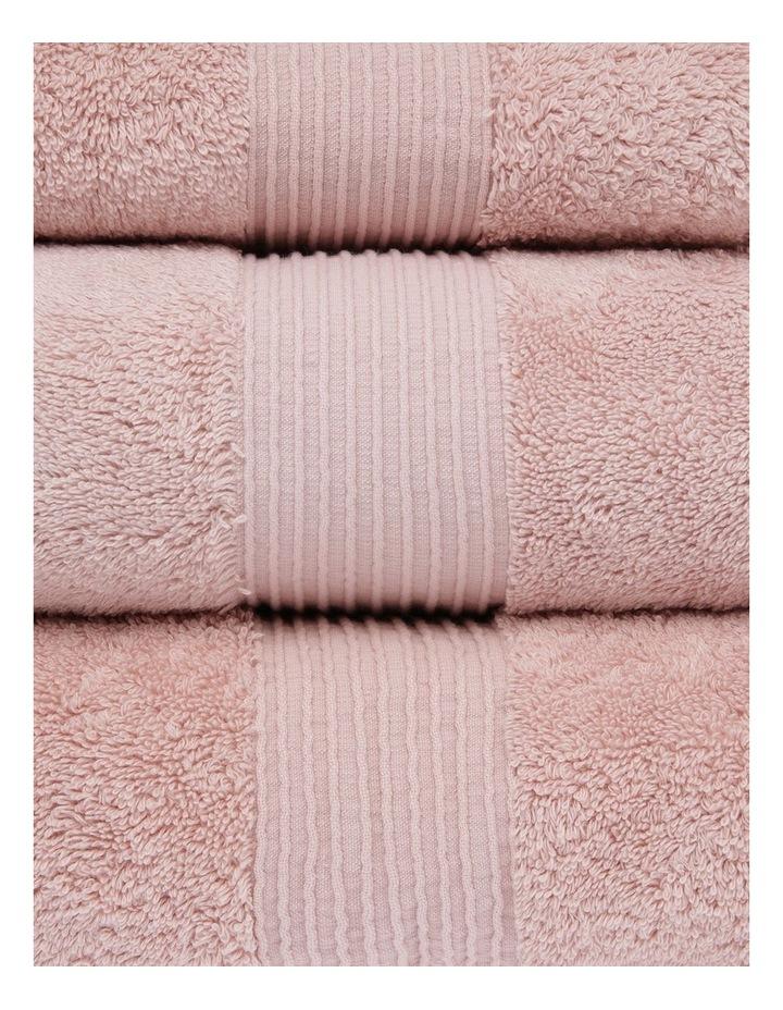 Natural Australian Cotton Towel Range in Pink image 2