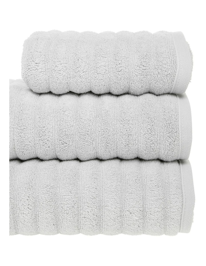 Gambier Ribbed Cotton Towel Range in Charcoal image 2