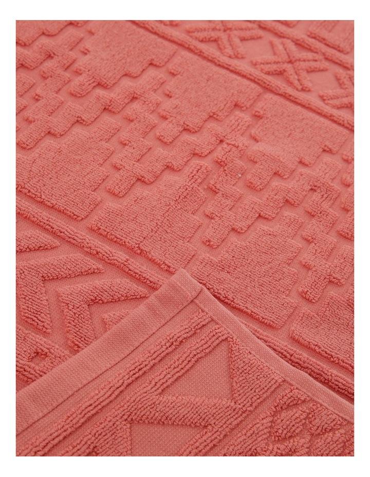Honolulu Jacquard Cotton Towel Range in Burnt Sienna image 3