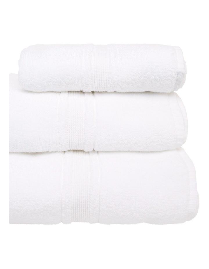 Valetta Turkish Cotton Towel Range in White image 2