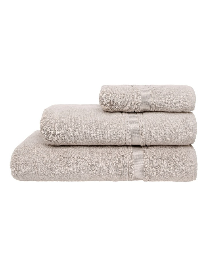 Valetta Turkish Cotton Towel Range in Natural image 1