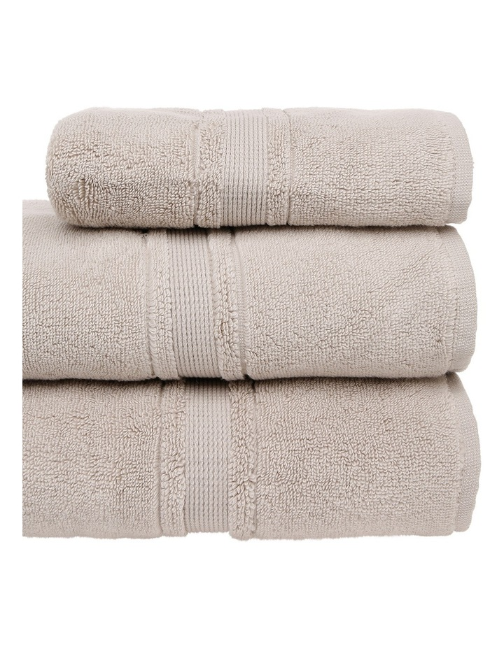 Valetta Turkish Cotton Towel Range in Natural image 2