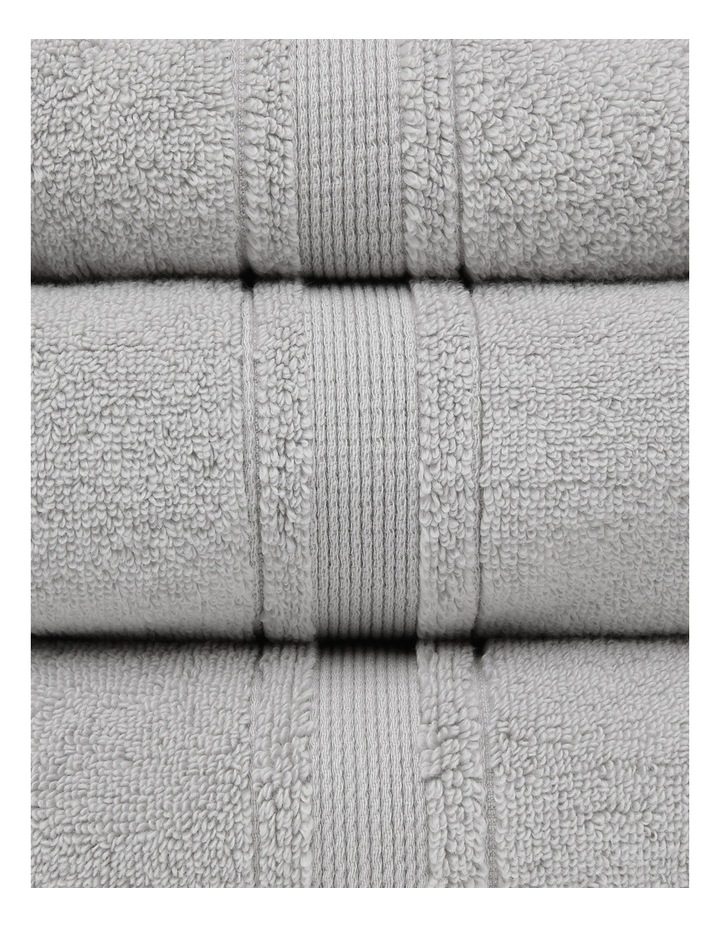 Valetta Turkish Cotton Towel Range in Grey image 2
