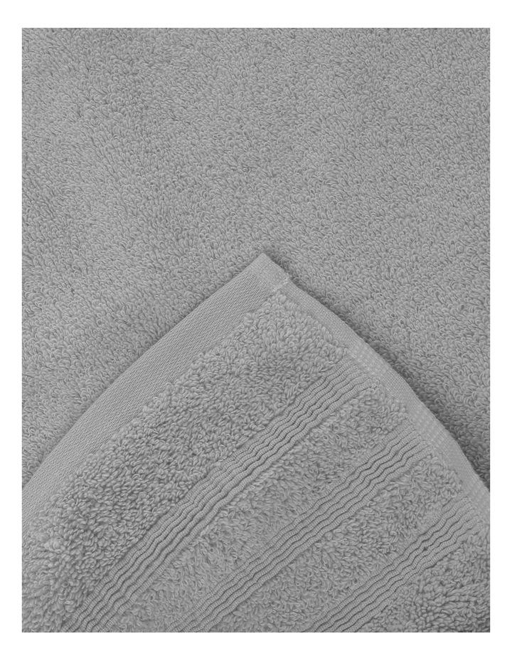 Luxury Turkish Cotton Towel Range in Silver image 3