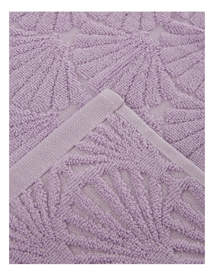Vietri Shell Towel Range in Lavender image 3