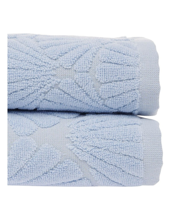 Vietri Shell Towel Range in Blue image 2