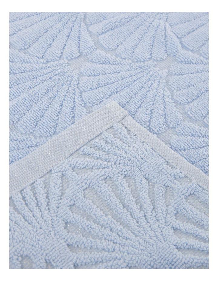 Vietri Shell Towel Range in Blue image 3