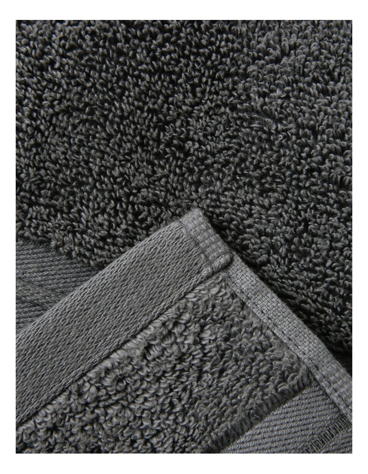 Essential Quick-Dry Towel Range in Charcoal image 1