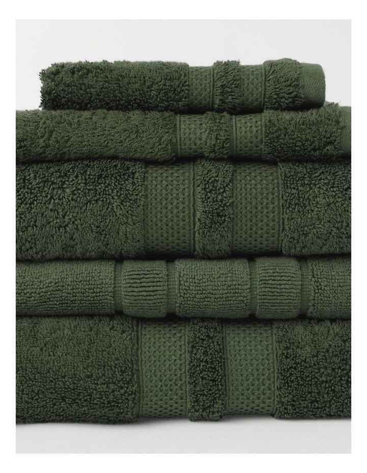 Premium Egyptian Cotton Towel Range in Forest image 2