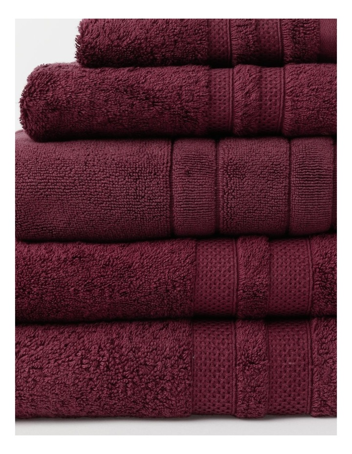 Premium Egyptian Cotton Towel Range in Berry image 2
