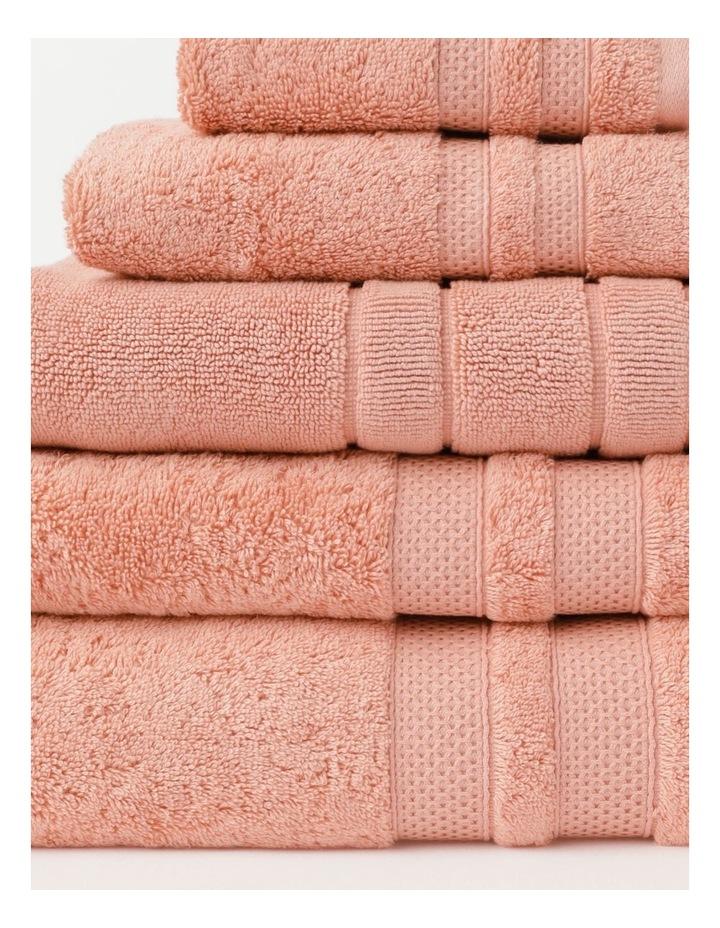 Premium Egyptian Cotton Towel Range in Rose image 2